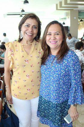 Gaby López, Lourdes Yong.