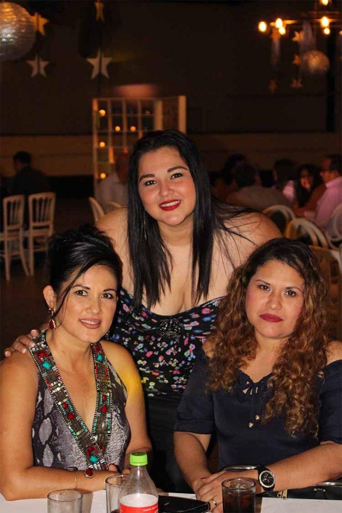 Eva Torres, Ana Gamboa, Marisol Tovilla.
