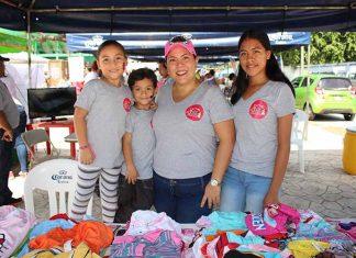 Sarah, Camilo Cárdenas, Bere Choy, Hanni Ponce.