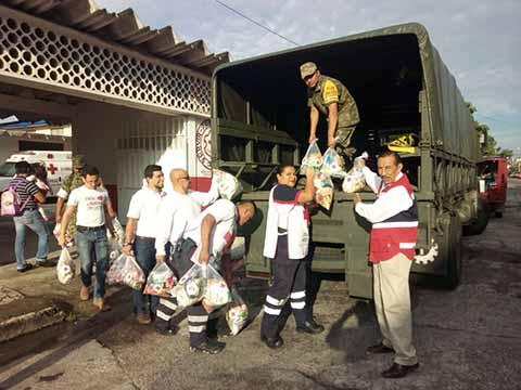 Ayuda Humanitaria a Pavencul y Toquián