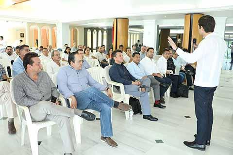 Autoridades y Empresarios dan Seguimiento a Conformación de la ZEE de Puerto Chiapas