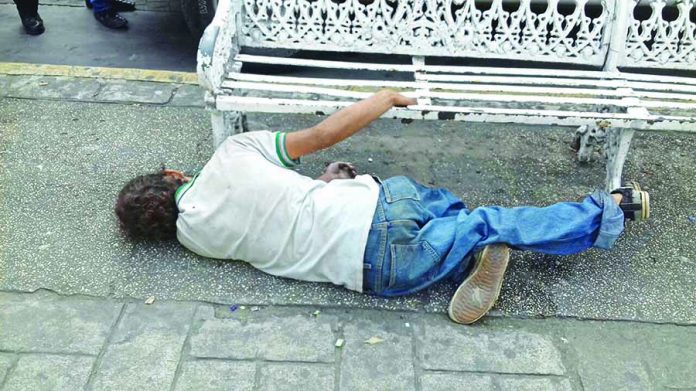 """Falleció en una Banca del Parque """"Miguel Hidalgo"""""""