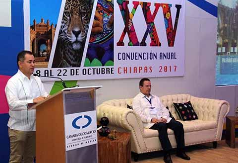 Tuxtla Gutiérrez fue Sede de la Convención Nacional de Canaco y Servytur