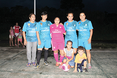 Empatan Sporting Kristel y Amigas