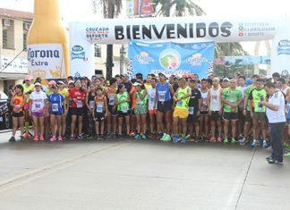 Más de 800 Atletas Participaron en la Carrera Atlética Corona 10k