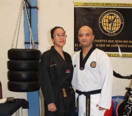 Evaluaciones a Taekwondoínes de Instituto Olímpico