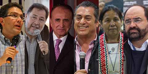 INE Registra a 31 Independientes a la Presidencia