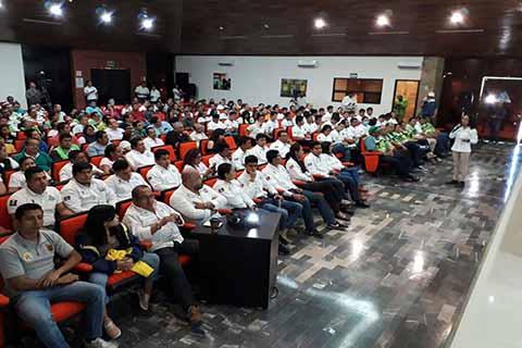 Concluye Ciclo de Conferencias en Protección Civil