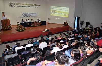 Celebró UNACH Jornadas Científicas y Congreso Internacional de Químicos Farmacobiólogos