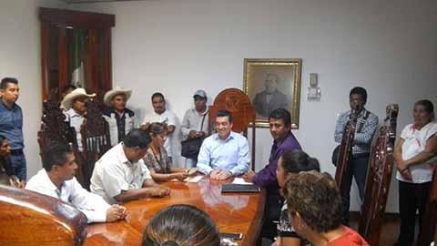 Recibe Rutilio Escandón a Organizaciones y Asociaciones Civiles de Ocosingo y Altamirano