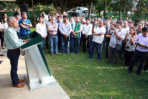 Aguilar Bodegas Deja la Secretaría del Campo