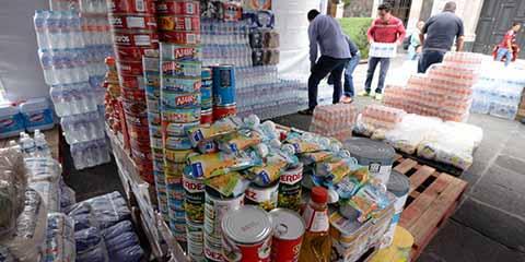 Envía Sociedad de Yucatán Cien Toneladas de Ayuda a Chiapas