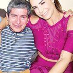 Acompañada del promotor Tito Sánchez, quien hizo posible la visita de Liz en Tapachula.