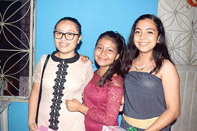 Fátima Escobar, Diana Díaz, Dulce Navarro.