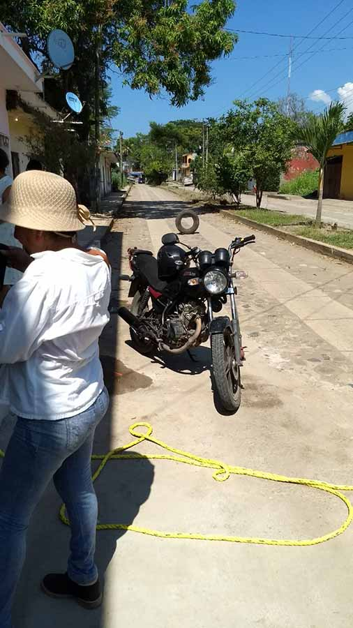 Se Accidentaron Motociclistas que Echaban Carreritas
