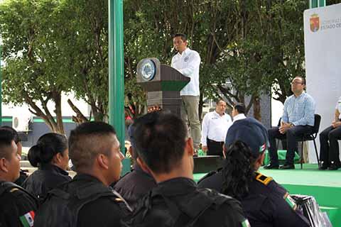 """Se Fortalece el Programa """"Cero Corrupción"""" en la Secretaría de Seguridad: Llaven Abarca"""