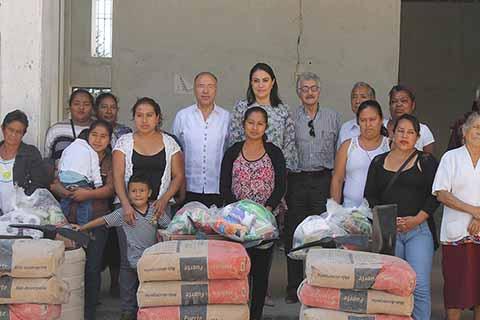Gobierno de Chiapas y Empresarios se Suman a la Reconstrucción