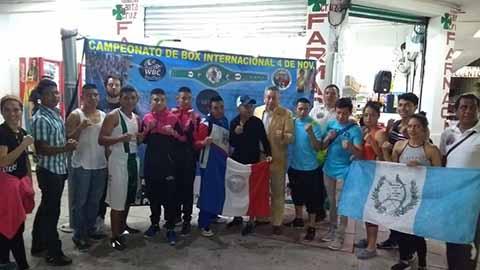 Hoy Campeonato Internacional de Box en Tapachula