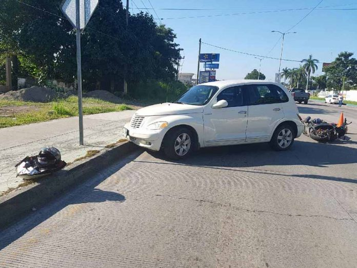 Imprudentes Provocaron Accidente