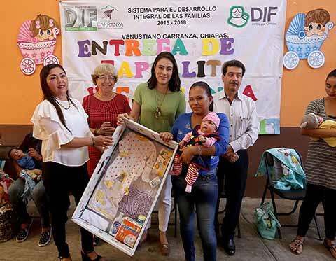 """DIF Chiapas Inicia Entrega de Apoyos del Programa """"Capullito"""""""