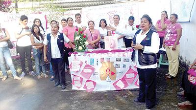 Personal del Centro de Salud Indeco Cebadilla impartió temas de suma relevancia.