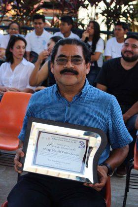 Moisés Cueto, Reconocimiento por su trayectoria.