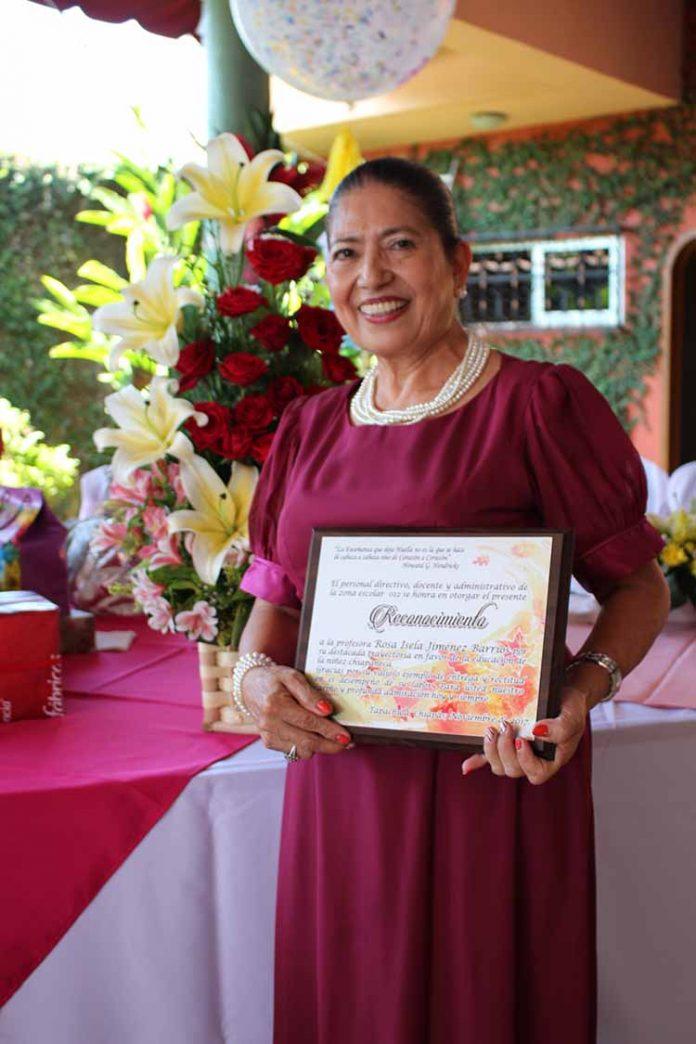 Rosa Isela Jiménez.