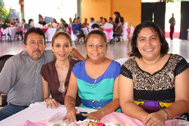 Liusver Hernández, Gabriela Preciado, Itzel Ochoa, Fanny Herrera.