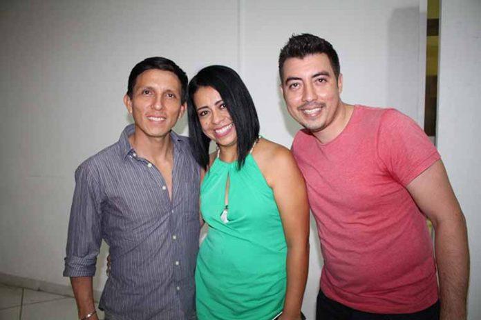 José González, Cristina Torres, Marco Grajales.