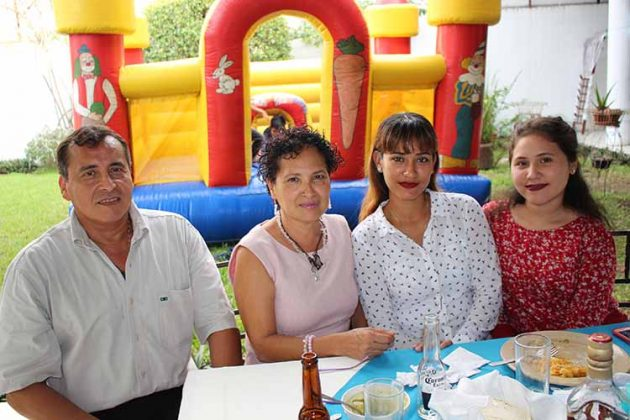 Familia Castillo Hurtado.