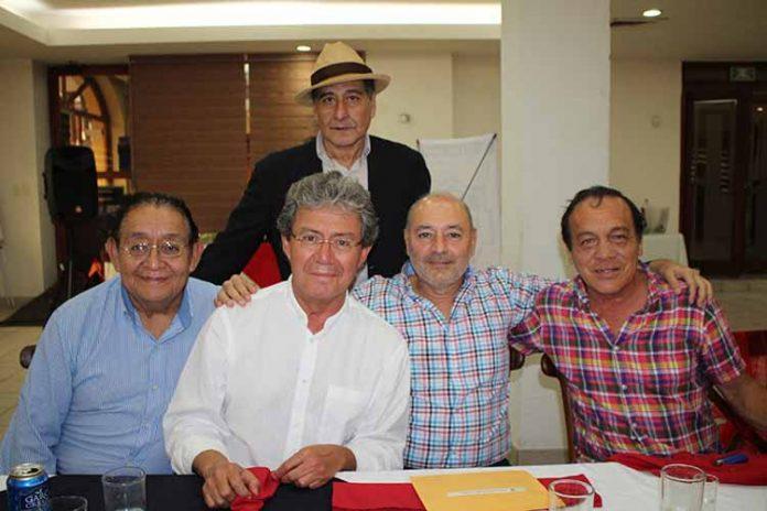 Humberto Cancino, Jorge Cancino, Javier de Gyves, Luis Cantón, Armando Cortés.