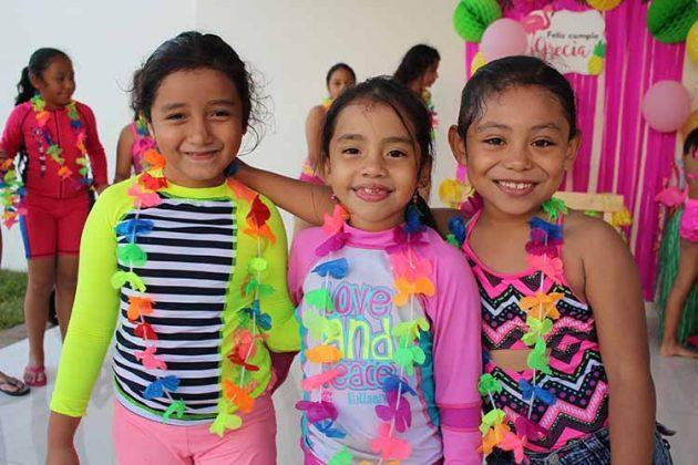 Valentina García, Adamarys Díaz, Sheli González.