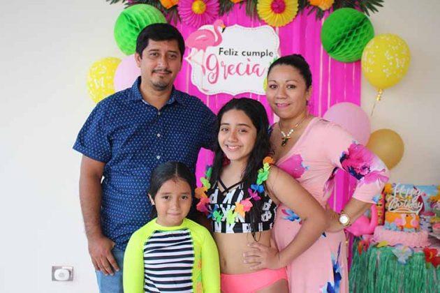 Omar, Valentina, Grecia García, Raquel Ordoñez.