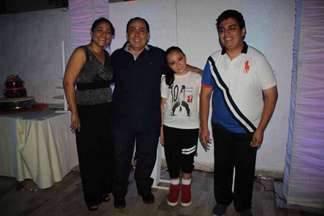 Alejandra Aranzola, Gustavo , Fernanda Argüello, Rafael Alexis.