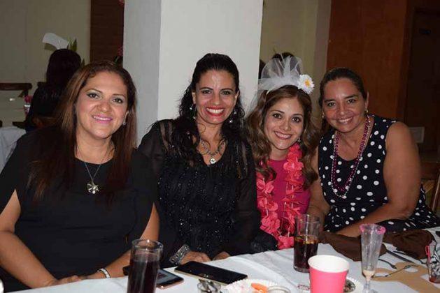 Claudia Hernández, Janeth Guaraieb, Janette Barragán, Alicia Guraieb.