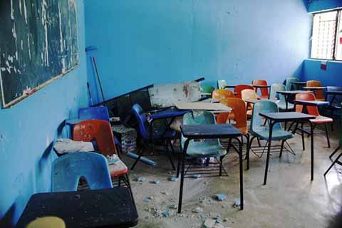 Federación y Gobierno Estatal Destinarán 110 Mdp Para Reconstrucción de Escuelas