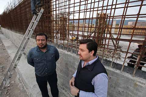 Supervisa Fernando Castellanos Obras de Agua Potable en Tuxtla Gutiérrez