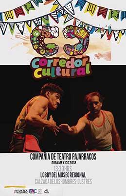 Ayuntamiento de Tuxtla Invita a Disfrutar de la Compañía de Teatro Pajarracos en el Museo Regional