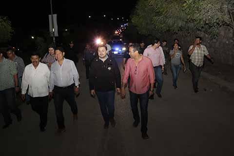 Pone en Marcha Fernando Castellanos el Operativo Rastrillo en Colonias de la Capital Chiapaneca