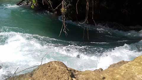 PC Supervisa Cauce del Río en las Cascadas de Agua Azul