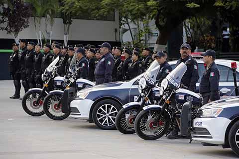Con Mayor Equipamiento se Fortalece la Seguridad en Tuxtla Gutiérrez