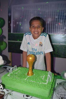 Eder Guzmán Tello, en su onceavo aniversario.
