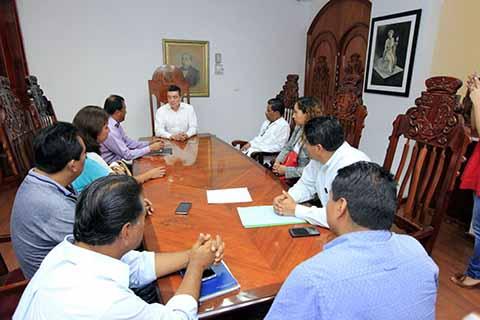 Se Reúne Rutilio Escandón con Colegio de Abogados Indígenas de Chiapas