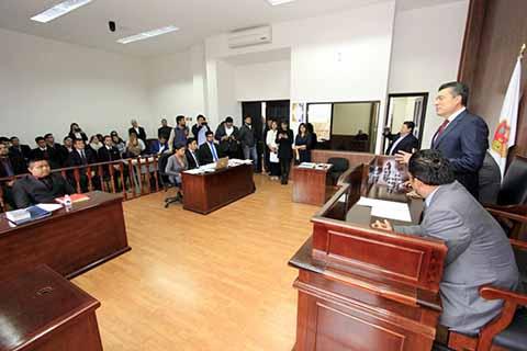 Poder Judicial Abona a la Cultura de Justicia en Futuras Generaciones de Abogados: Rutilio