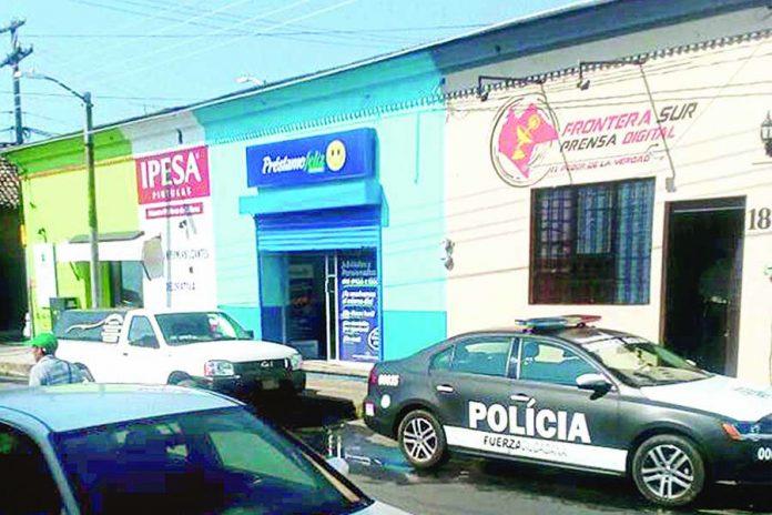 "Bandidos Robaron en Empresa ""Préstamo Feliz"""