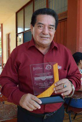 José Antonio Ramírez, ex Director de la Secundaría Técnica No. 3.