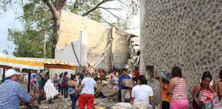 Registran Actos de Rapiña en la Abarrotera Sahuayo