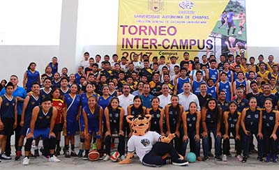 Cierra con Éxito el Torneo Inter-Campus 2017 de la UNACH