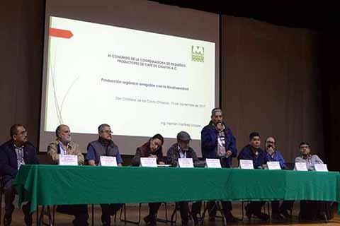 Realizan XI Congreso de Pequeños Productores de Café de Chiapas