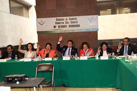 Solicita el Diputado Enrique Zamora Morlet Recursos Para Estados Fronterizos del Sur